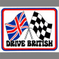 Drive British sticker