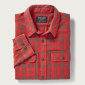 Filson Scout Shirt Red/Olive