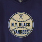 Ebbets Field New York Black Yankees 1947 T-Shirt Navy