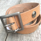 Lone Wolf Leather Indian Head Concho Belt