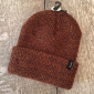Brixton Heist Athletic Orange/Brown Beanie