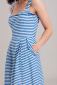 Emily and Fin Pippa dress blue and white stripe