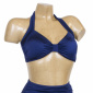 Esther Williams classic top solid navy