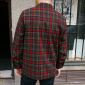 Topster Olive/Red Plaid