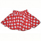Janet Cirkle Skirt Red w white dots