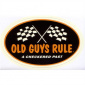 Old Guys Rule OGR Sticker