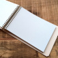 Postalco Light Blue Notebook A6 Pingraph