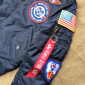 Alpha Industries Inc. MA-1 Patch Youth Jacket