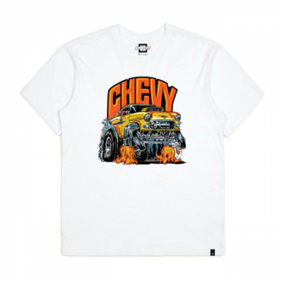 Brixton Chevy Collaboration 55 Heavy S/S Standard Tee i gruppen Herr / T-shirts hos Sivletto - Skylark AB (16220)