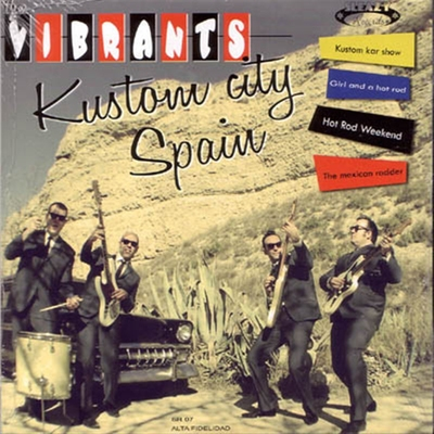 The Vibrants - Kustom City Spain EP i gruppen Övrigt / Musik / Vinyl hos Sivletto (4651)