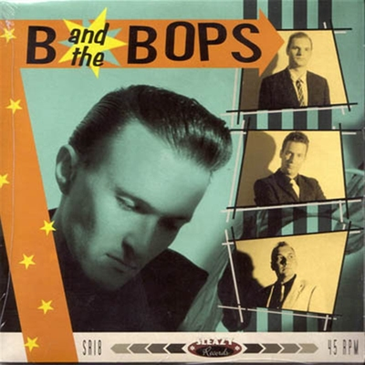 B And The Bops - Prove Your Love Is True 45rpm i gruppen �vrigt / Musik / Vinyl hos Sivletto (4652)