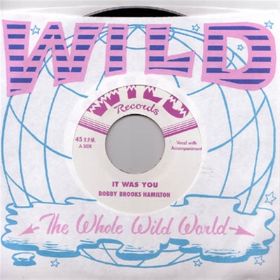 Bobby Brooks Hamilton - It Was You b/w Little School Girl i gruppen Musik & Film / Musik / Vinyl hos Sivletto - Skylark AB (4928)