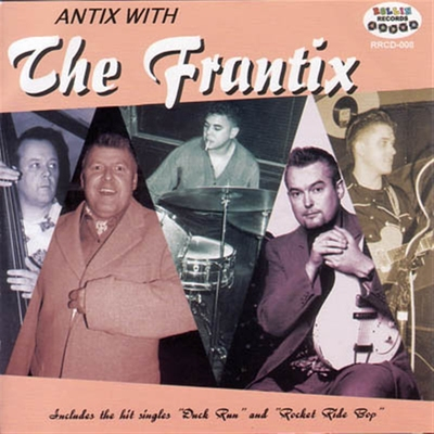 The Frantix - Antix with ... i gruppen Övrigt / Musik / CD hos Sivletto (5160)