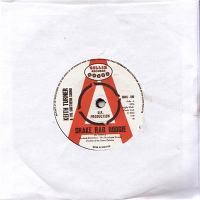 Keith Turner & The Southern Sound - Shake Rag Boogie b/w They Call Me The Breeze i gruppen Musik & Film / Musik / Vinyl hos Sivletto - Skylark AB (5329)