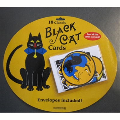 Accoutrements Black cat cards i gruppen Bostad & prylar / Kontor och papper hos Sivletto (652)