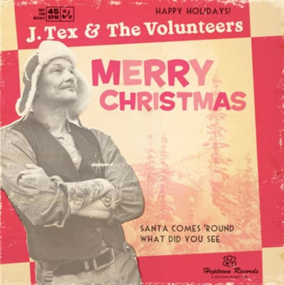 J.Tex & The Volunteers - Merry Christmas (CD) i gruppen Musik & Film / Musik / CD hos Sivletto - Skylark AB (6855)