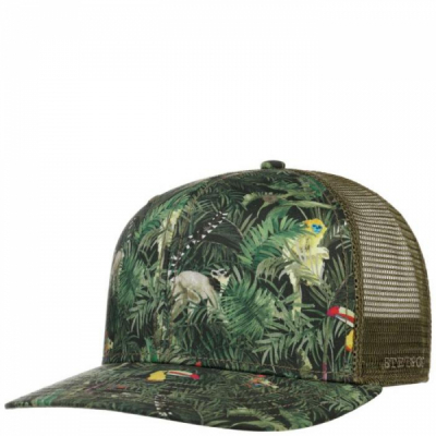 Stetson Jungle Trucker Cap Green i gruppen  hos Sivletto - Skylark AB (7781909-99)