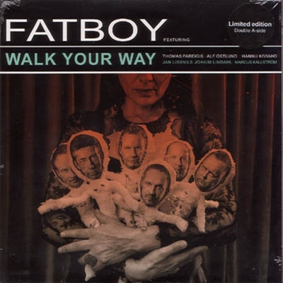 Fatboy - Walk Your Way b/w I Don't Wanna Get There i gruppen �vrigt / Musik / Vinyl hos Sivletto (8196)