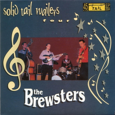 The Brewsters - Solid Tail Wailers Four e.p. i gruppen Övrigt / Musik / Vinyl hos Sivletto (8407)