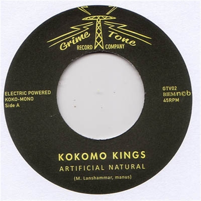 Kokomo Kings - Artificial Natural b/w I Know Where To Go i gruppen Övrigt / Musik / Vinyl hos Sivletto (8456)