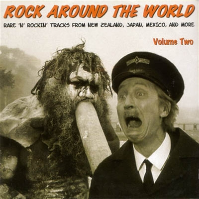 Rock Around The World Volume Two i gruppen �vrigt / Musik / CD hos Sivletto (8979)