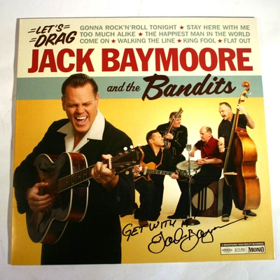 Atenzia Jack Baymoore and the Bandits - Let's Drag (VINYL) i gruppen �vrigt / Musik / Vinyl hos Sivletto (8992)