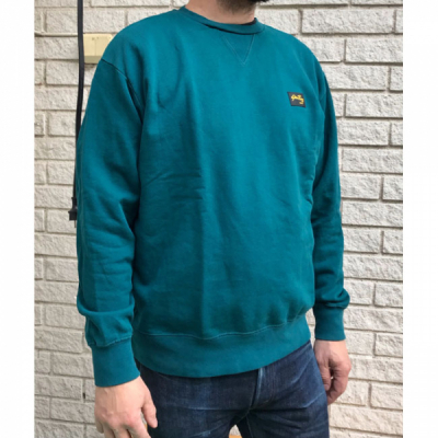 Stan Ray Workers Crew Sweat Carbon Green i gruppen Herr / Tröjor hos Sivletto - Skylark AB (AW192600134)