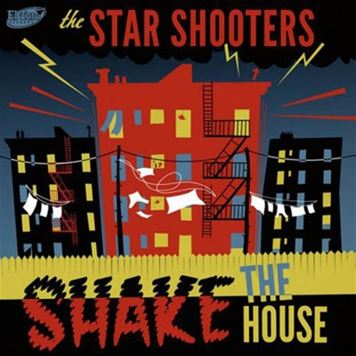 The Star Shooters - Shake The House i gruppen Övrigt / Musik / CD hos Sivletto (ETCD-6056)