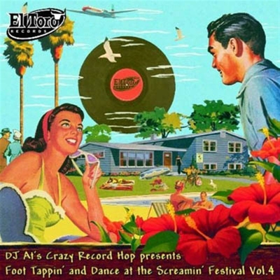 DJ At's Crazy Record Hop presents Foot Tappin' & Dance At The Screamin' Festival vol 4 i gruppen �vrigt / Musik / CD hos Sivletto (ETCD1052)