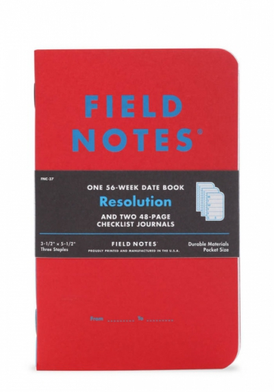 Field Notes Resolution 3-pack i gruppen Stuff / Bostad & prylar / Kontor och papper hos Sivletto - Skylark AB (FNC-37)