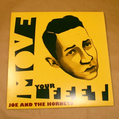 Joe and The Hornets - Move Your Feet i gruppen Musik & Film / Musik / Vinyl hos Sivletto - Skylark AB (JOE-33)