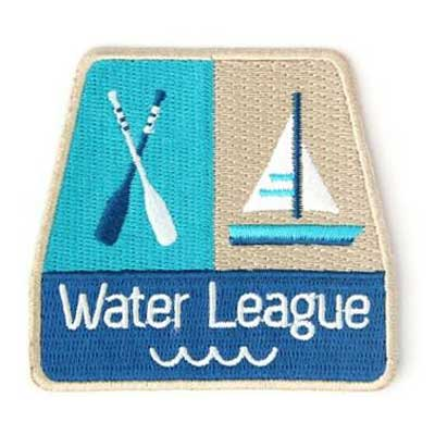 Mokuyobi Water league patch i gruppen Denim / Accessoarer hos Sivletto - Skylark AB (MY29)
