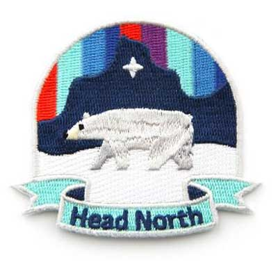 Mokuyobi Head north patch i gruppen Denim / Accessoarer hos Sivletto - Skylark AB (MY40)