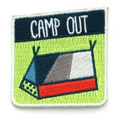 Mokuyobi Camp out patch i gruppen Denim / Accessoarer hos Sivletto - Skylark AB (MY49)