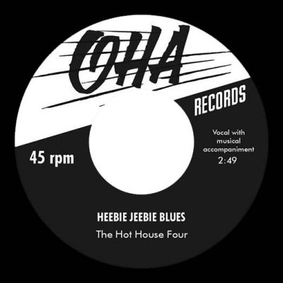 The Hot House Four - Heebie Jeebie Blues i gruppen Musik & Film / Musik / Vinyl hos Sivletto - Skylark AB (OHA-001)