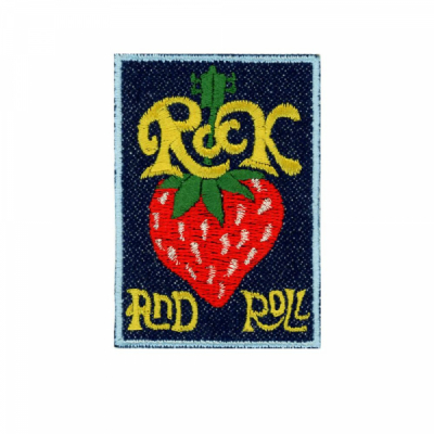 Patch Ya Later Rock and Roll Berry i gruppen Denim / Accessoarer hos Sivletto - Skylark AB (PYL-rnrberry)