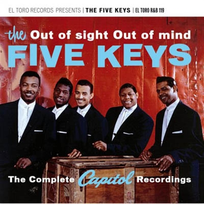 The Five Keys - Out of sight Out of mind i gruppen Övrigt / Musik / CD hos Sivletto (R&B119)