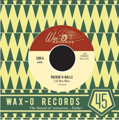 The Rockin' 8-balls - I Rest My Case / Lil' Boy Blue i gruppen Musik & Film / Musik / Vinyl hos Sivletto - Skylark AB (Wax-O-02)