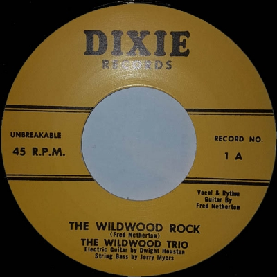 Wildwood Trio - The Wildwood Rock / Dear What About You i gruppen Övrigt / Musik / Vinyl hos Sivletto (dixie-1)