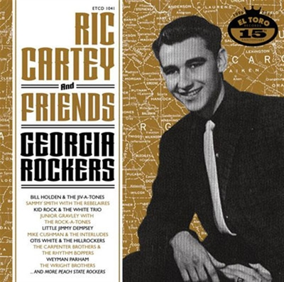 Ric Cartey And Friends - Georgia Rockers i gruppen Övrigt / Musik / CD hos Sivletto (etcd1041)