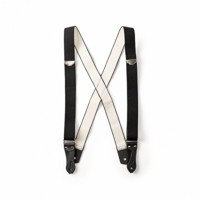 Filson Suspenders Black Regular Length i gruppen Denim / Accessoarer hos Sivletto - Skylark AB (filson-11030079-black)