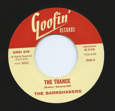 Barnshakers - The Trance / Let Me Tell You About Love i gruppen Musik & Film / Musik / Vinyl hos Sivletto - Skylark AB (grsi-219)