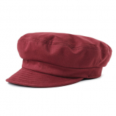 Brixton Fiddler UN cap washed burgundy