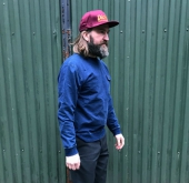 Dickies Fawn Grove Sweatshirt Light Indigo