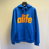 Alife Core Pullover Hoody Victory Blue