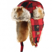 Dickies Trout Creek red trapper hat
