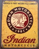 Indian Motorcycles Plåtskylt