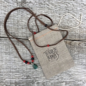 Tenable Crafts Leather String Necklace