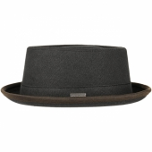 Stetson Pork Pie Canvas Antracite