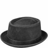 Stetson Odenton Pork Pie Hat Black